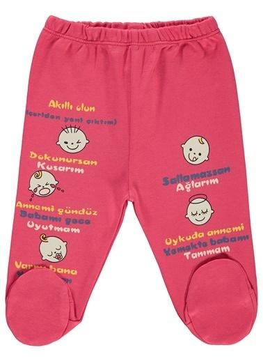 Kujju Kujju Bebek Patikli Tek Alt 0-6 Ay Narçiçeği Kujju Bebek Patikli Tek Alt 0-6 Ay Narçiçeği Renkli